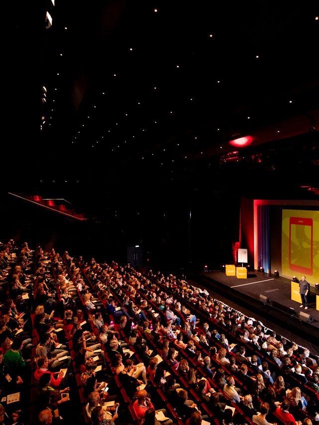Studio Dijkgraaf Fotografie congres Beatrixtheater Utrecht